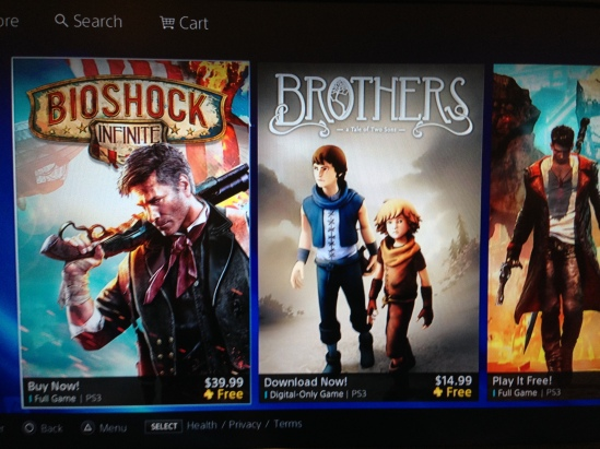 Brothers Playstation Plus