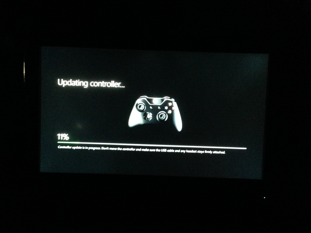Xbox One controller update
