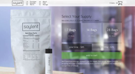 Soylent website