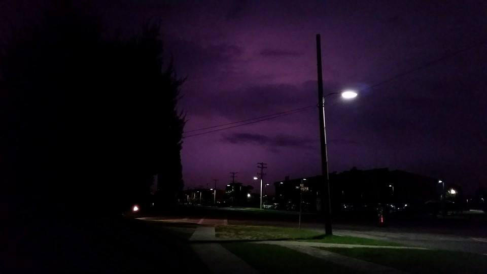 purple sky korea