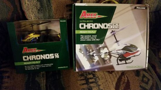 Chronos CX75 and CX100