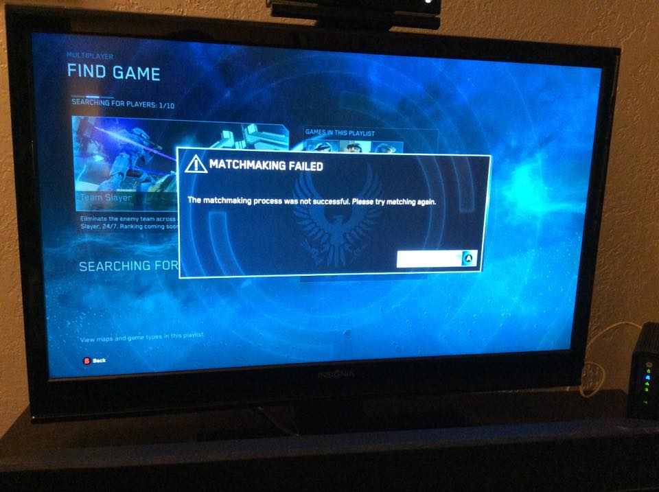 Halo collection matchmaking issues