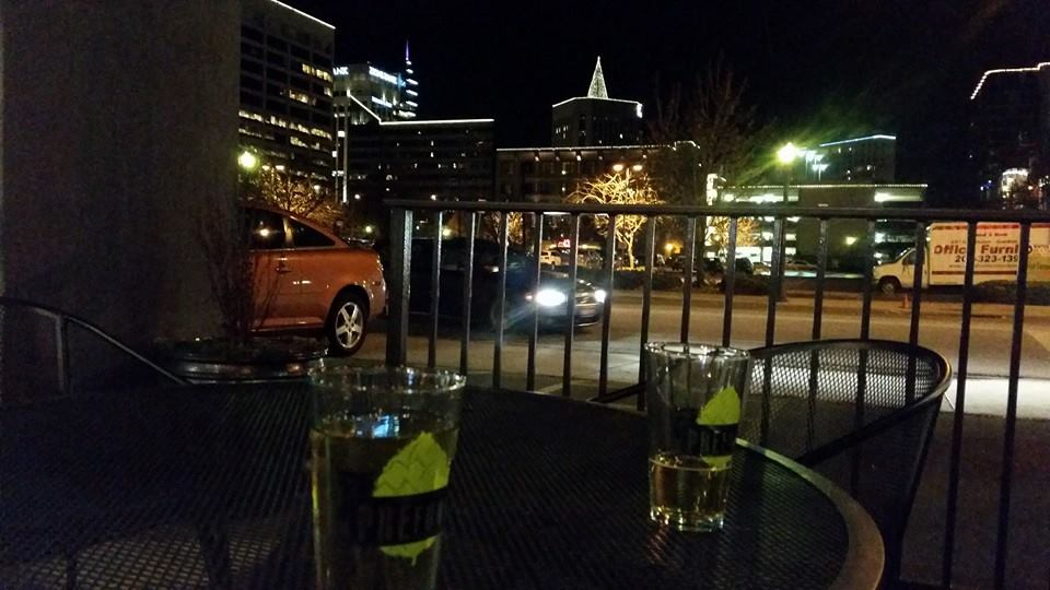 Pre Funk Boise outdoor seating