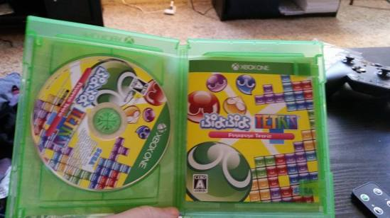 Puyo Puyo Tetris manual