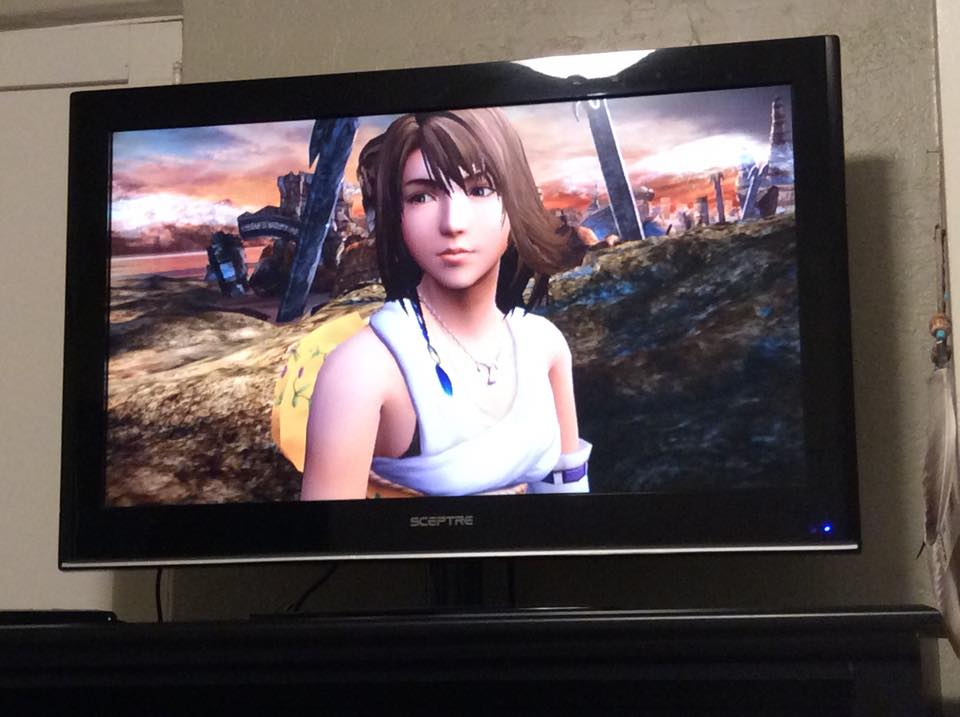 final fantasy x hd playstation tv