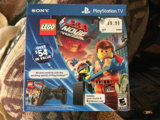 Playstation TV bundle
