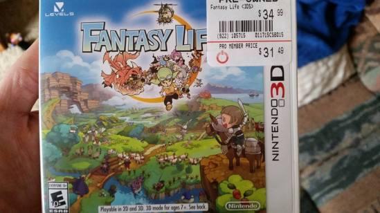 Fantasy Life cover