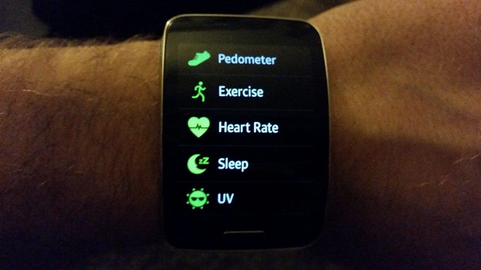 galaxy gear s health
