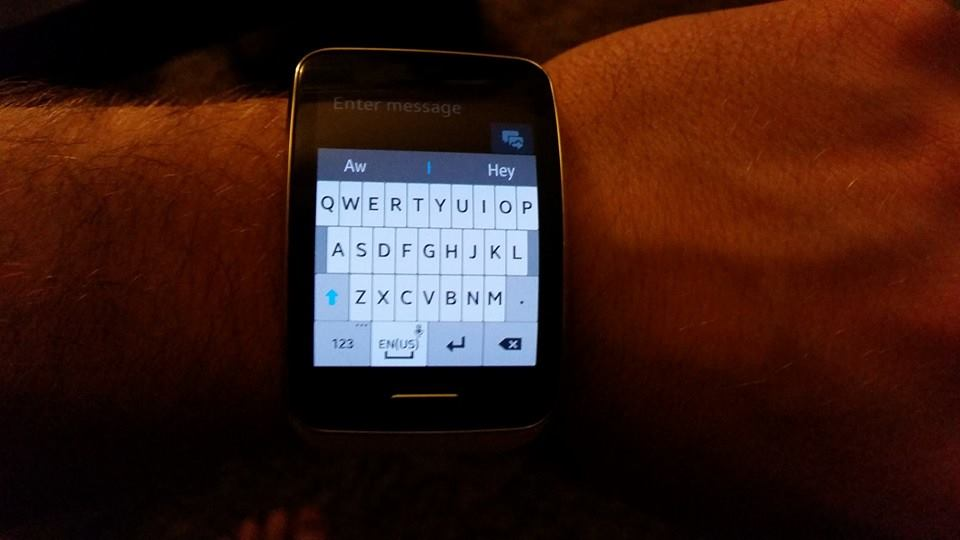 galaxy gear s keyboard