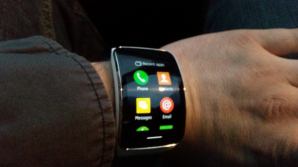 galaxy gear s menu