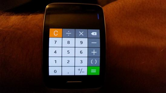 galaxy gear s calculator