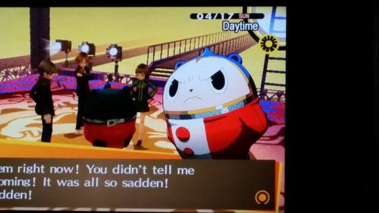 teddie angry persona 4