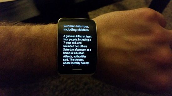 galaxy gear s CNN