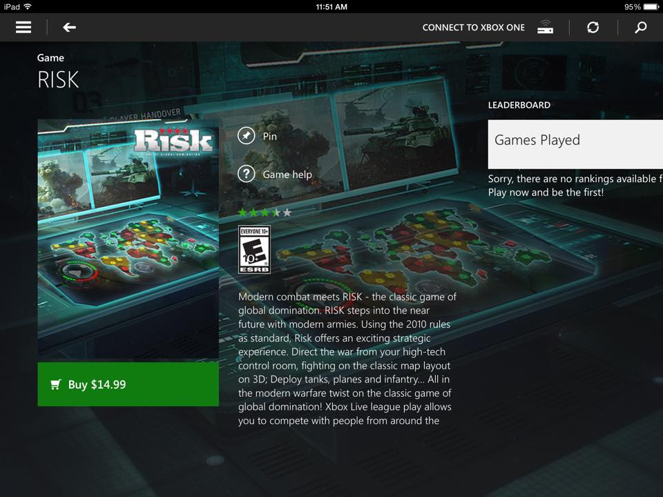 RISK Xbox One