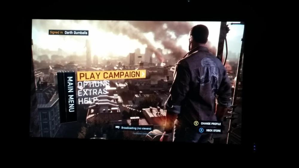Dying Light menu
