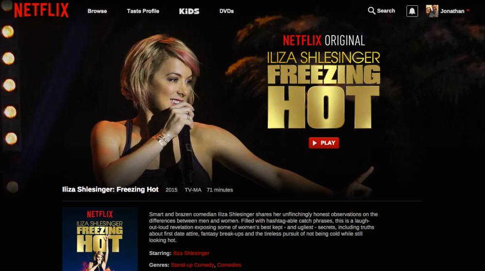 iliza schlesinger freezing hot