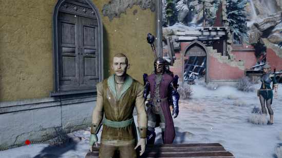 Dragon Age Inquisition talking