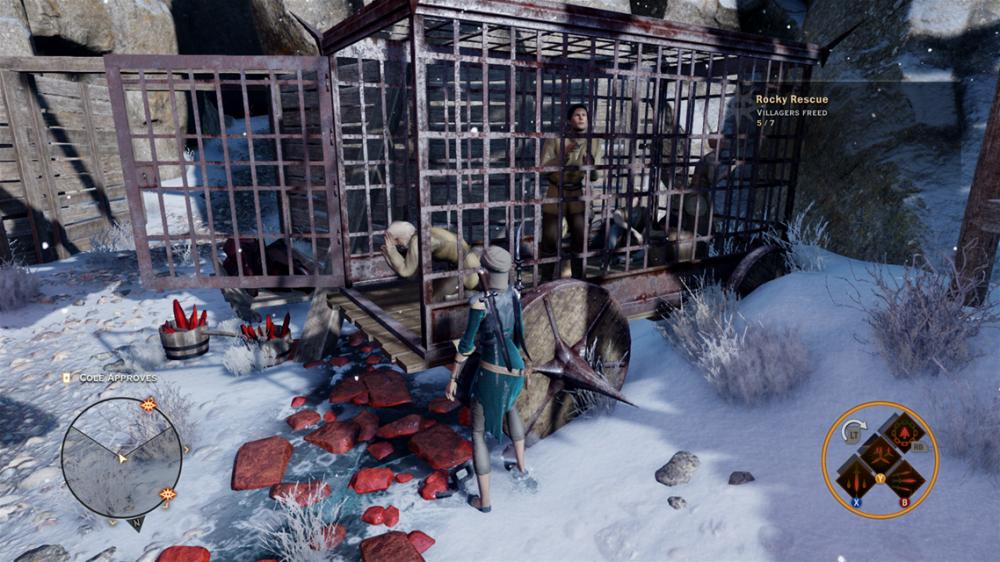 Dragon Age rocky rescue