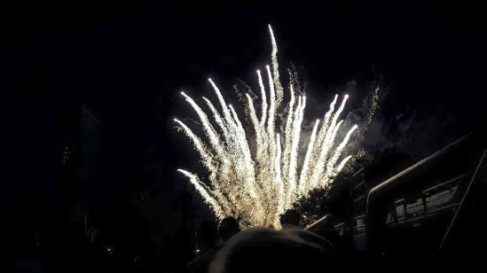 Boise Hawks fireworks