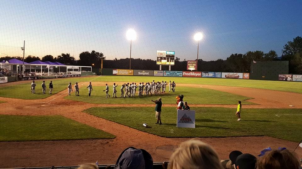 Boise Hawks Tri City Dust Devils 2015