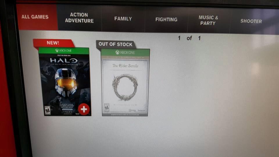 Redbox Xbox One