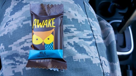 Awake Caffeinated Chocolate bite