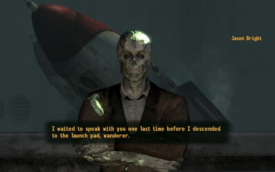 Fallout New Vegas ghoul Bright