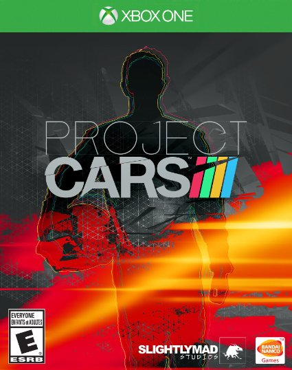 Project Cars Xbox One cover