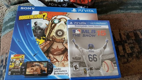 Playstation Vita Borderlands bundle