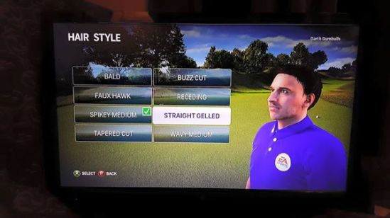 Rory McIlroy PGA Tour character customization