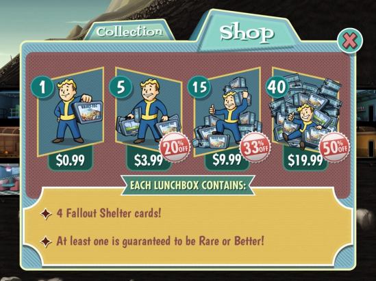 fallout shelter card packs