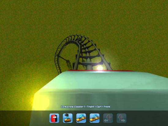 rollercoaster tycoon 3 ios first person view