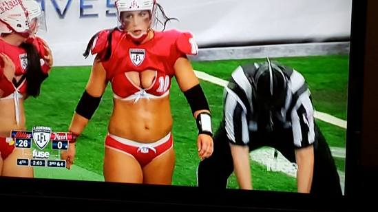 Legends Football League 2015 uniform