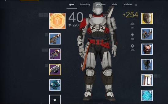 Destiny gear