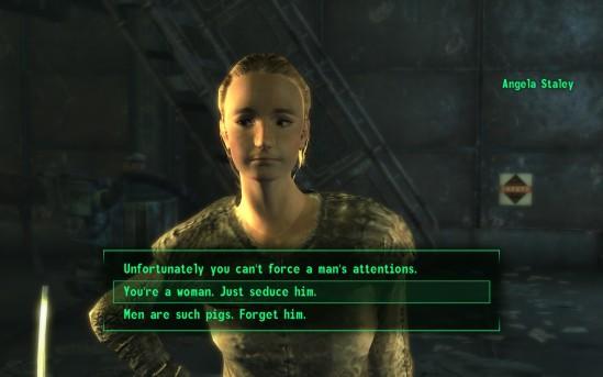 Fallout 3 dialogue