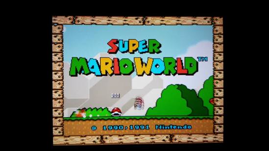 Super Mario World WiiU
