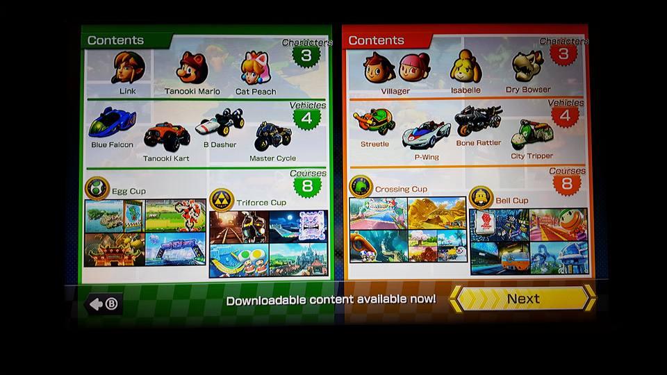 Mario Kart 8 dlc