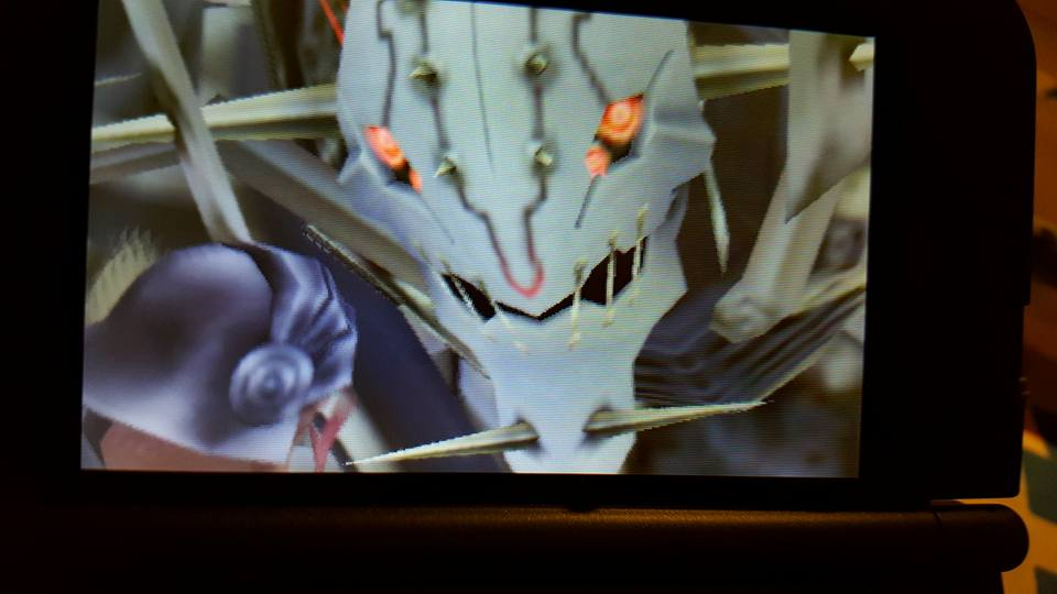Xenoblade Chronicles 3D metal face