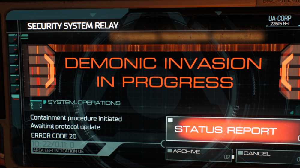 demonic invasion in progress