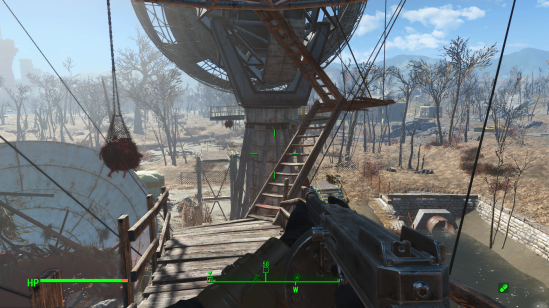 Fallout 4 satellite array stairs