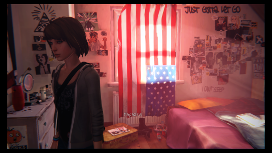 Life is Strange Zoe's room