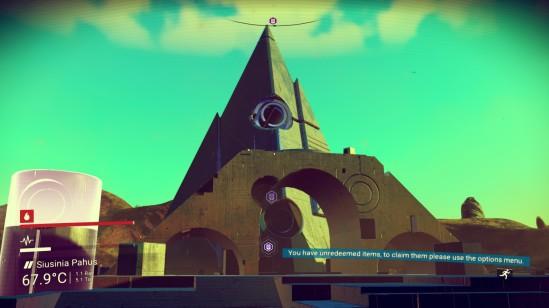 No Man's Sky monolith