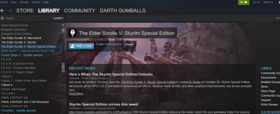 Skyrim Special Edition Steam